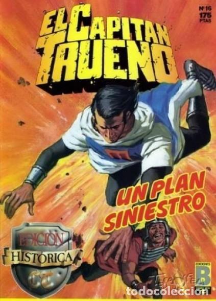 EL CAPITAN TRUENO Nº 16 EDICION HISTORICA - EDICIONES B (Tebeos y Comics - Ediciones B - Clásicos Españoles)