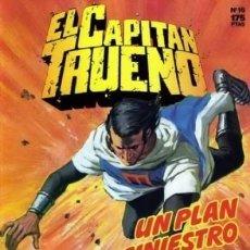Comics : EL CAPITAN TRUENO Nº 16 EDICION HISTORICA - EDICIONES B. Lote 144515058