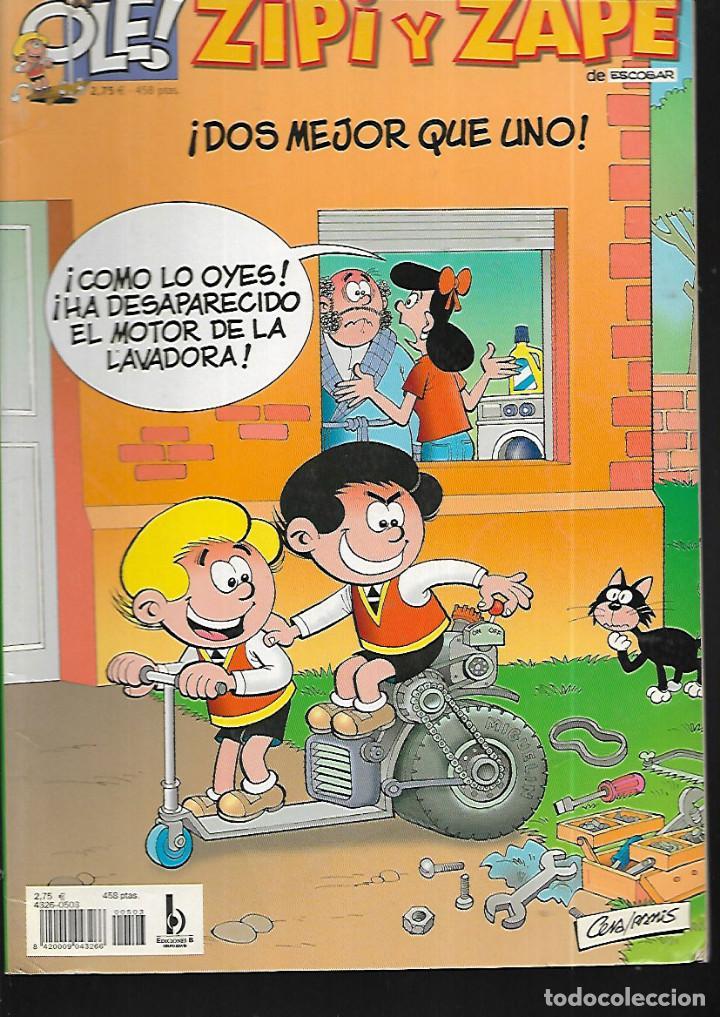 ZIPI Y ZAPE * ¡ DOS MEJOR QUE UNO ! - Nº 3 (Tebeos y Comics - Ediciones B - Humor)
