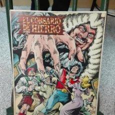 Cómics: PÓSTER EL CORSARIO DE HIERRO / AMBROS / EDICIONES B . Lote 145049622
