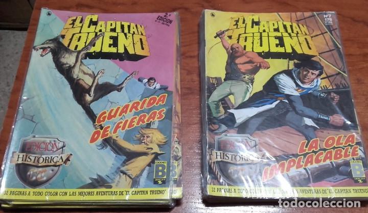 EL CAPITÁN TRUENO EDICIONES B HISTORICA LOTE DE 9 Nº. (Tebeos y Comics - Ediciones B - Clásicos Españoles)