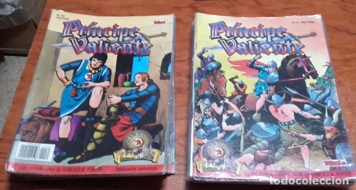 PRÍNCIPE VALIENTE. EDICION HISTORICA EDICIONES B LOTE DE 26 Nº. (Tebeos y Comics - Ediciones B - Otros)