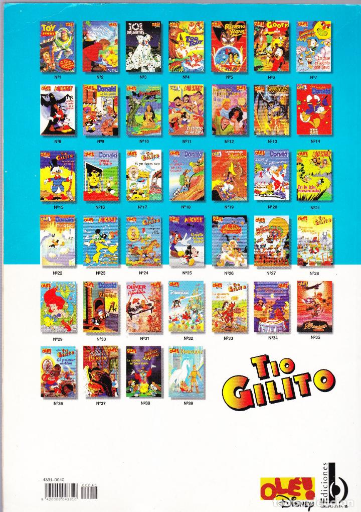 Cómics: LA JUVENTUD DE TIO GILITO - CIUDADANO McPATO - OLE Nº 40 - DISNEY - EDICIONES B 1997 - Foto 2 - 146020638