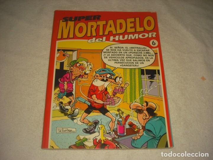 SUPER MORTADELO DEL HUMOR Nº 6. RETAPADO CO 5 NUMEROS. (Tebeos y Comics - Ediciones B - Humor)
