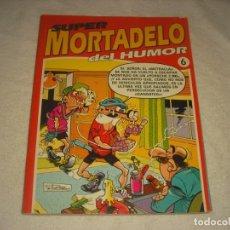 Cómics: SUPER MORTADELO DEL HUMOR Nº 6. RETAPADO CO 5 NUMEROS.. Lote 146108790