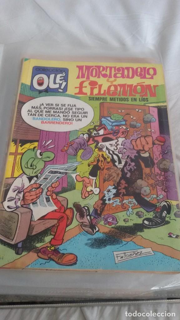 Cómics: 22 COLECCIÓN OLE, MORTADELO. EDICIONES B. ALGUNO ES OLE DE BRUGUERA. TODOS FOTOGRAFIADOS - Foto 11 - 146386106
