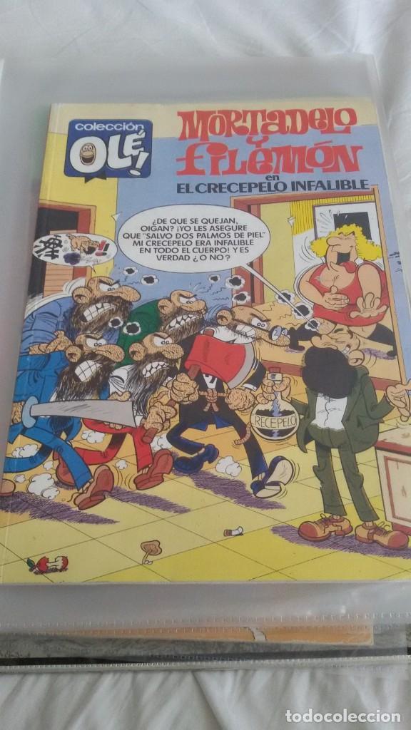 Cómics: 22 COLECCIÓN OLE, MORTADELO. EDICIONES B. ALGUNO ES OLE DE BRUGUERA. TODOS FOTOGRAFIADOS - Foto 16 - 146386106