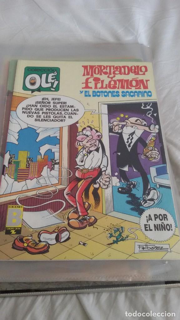 Cómics: 22 COLECCIÓN OLE, MORTADELO. EDICIONES B. ALGUNO ES OLE DE BRUGUERA. TODOS FOTOGRAFIADOS - Foto 17 - 146386106