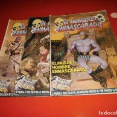 Comics: EL HOMBRE ENMASCARADO - Nº 1 AL 74 , COMPLETA - EDICIONES B. Lote 146436346