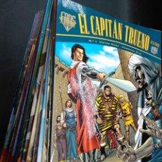 Cómics: EL CAPITÁN TRUENO LOTE PRIMEROS 28 NÚMEROS FANS EDICONES B. Lote 146506974