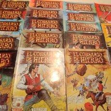 Cómics: EL CORSARIO DE HIERRO LOTE DE 18 NUMEROS EDICION HISTORICA EDICIONES B. Lote 146596058