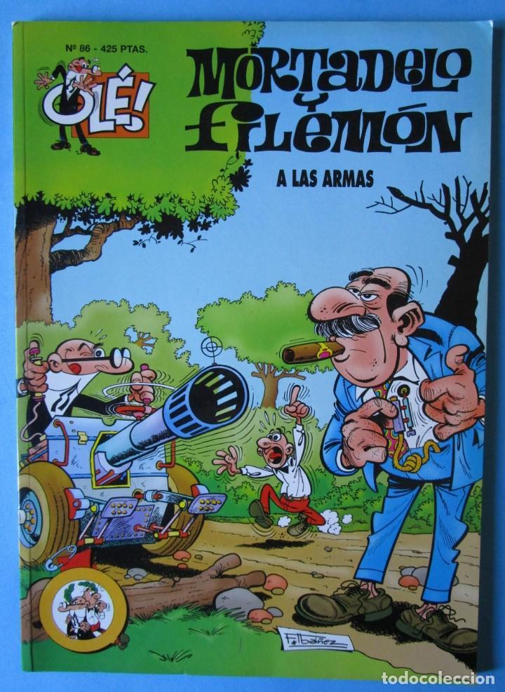 MORTADELO Y FILEMÓN Nº 86 - A LAS ARMAS - OLÉ! - 2ª EDICIÓN 2000 (Tebeos y Comics - Ediciones B - Humor)