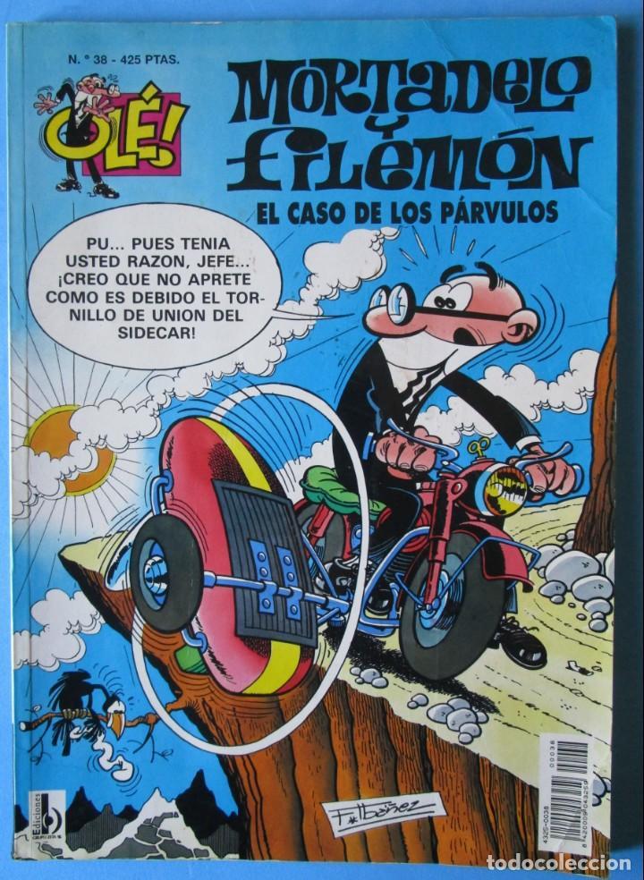 MORTADELO Y FILEMÓN OLÉ! Nº 38 - EL CASO DE LOS PÁRVULOS - 3ª EDICIÓN 1999 (Tebeos y Comics - Ediciones B - Humor)