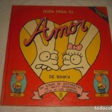 Cómics: GUIA PARA EL AMOR DE BINKY. GROENING . AUTOR DE LOS SIMPSON.. Lote 146663330