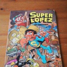 Cómics: SUPER LÓPEZ. LOS CABECICUBOS. EDICIONES B. . Lote 146991718