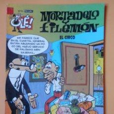Cómics: MORTADELO Y FILEMÓN. EL CIRCO. OLÉ! Nº 72 - FRANCISCO IBÁÑEZ. Lote 147269601