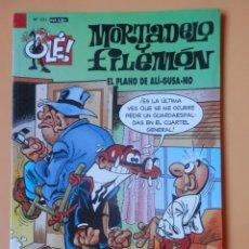Cómics: MORTADELO Y FILEMÓN. EL PLANO DE ALÍ-GUSA-NO. OLÉ! Nº 101 - FRANCISCO IBÁÑEZ. Lote 147269609