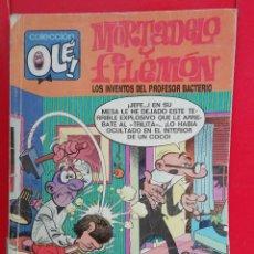 Cómics: MORTADELO Y FILEMON LOS INVENTOS DEL PROFESOR BACTERIO. Lote 147354890