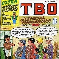 Cómics: TBO EDICIONES B ESPECIAL PINMANÍA Nº 62. Lote 147368206