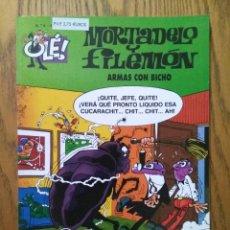 Cómics: OLÉ! MORTADELO Y FILEMÓN, N° 6 - ARMAS CON BICHO - 3A EDICIÓN - EDICIONES B, 2000. Lote 147401230