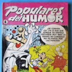 Cómics: POPULARES DEL HUMOR TOMOS Nº4 - MORTADELO Y FILEMÓN, ZIPI Y ZAPE, PULGARCITO- 1987-RETAPADO 5 TEBEOS. Lote 147457318