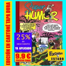 Cómics: SUPER HUMOR 5 - MORTADELO Y FILEMÓN HUERTO SINIESTRO EL ESTROPICIO METEOROLÓGICO 13 RUE PERCEBE. Lote 147329898