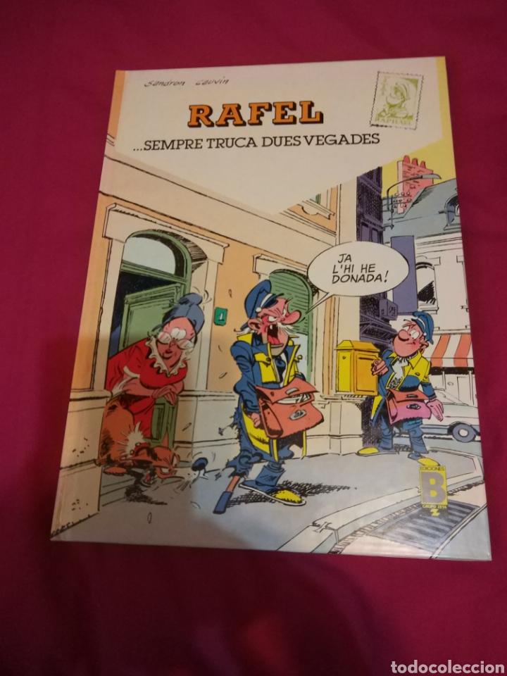 RAFEL SEMPRE TRUCA DUES VEGADES - SANDRON Y CAUVIN - EDICIONES B 1990 - COMIC TEBEO (Tebeos y Comics - Ediciones B - Otros)