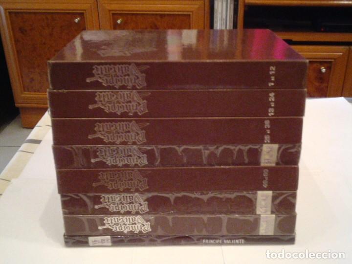 PRINCIPE VALIENTE - EDICIONES B - COMPLETA - 91 NUMEROS - EN 8 TOMOS - BUEN ESTADO (Tebeos y Comics - Ediciones B - Otros)