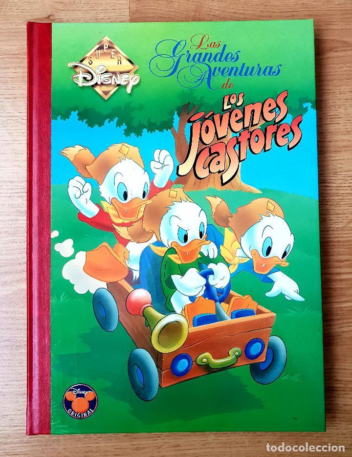 SUPER DISNEY NUMERO 7 LAS GRANDES AVENTURAS DE LOS JOVENES CASTORES. EDICIONES B. 1998. NUEVO (Tebeos y Comics - Ediciones B - Otros)