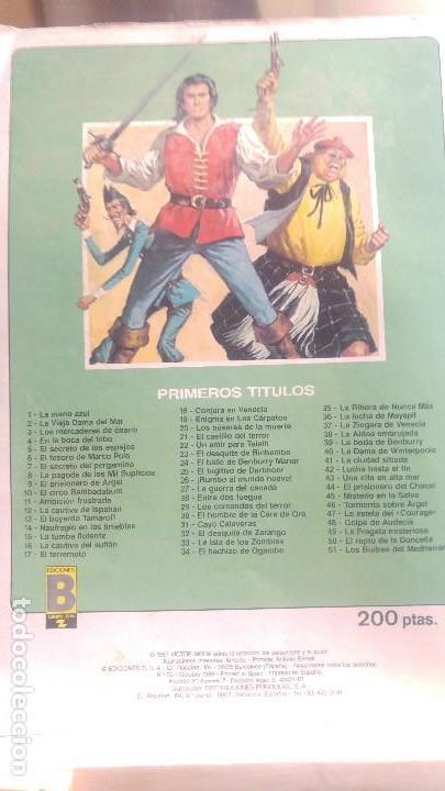 Cómics: EL CORSARIO DE HIERRO Nº 50 edición historica - Foto 2 - 147706130