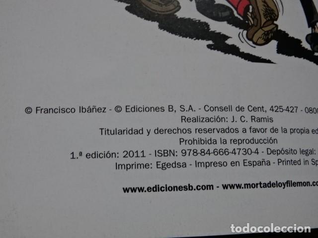 Cómics: GUIA DE LOS SECRETOS DE LA TIA T.I.A. MORTADELO Y FILEMÓN EDICIONES B Primera edición 2011 - Foto 5 - 147710334