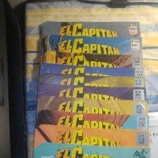 Cómics: EL CAPITÁN TRUENO LOTE DE 12 NÚMEROS EDICIÓN HISTORICA. Lote 147719898