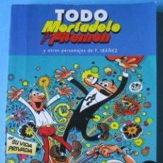 Cómics: TODO MORTADELO Y FILEMON TOMO 09 - EDICIONES B. 220 PAGS. . Lote 147737066