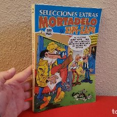Cómics: TOMO VOLUMEN COMIC TEBEO SELECCIONES EXTRA MORTADELO 20,29 Y ZIPI ZAPE 29,30 Nº 2 EDICIONES B . Lote 147752182