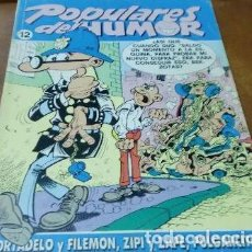 Cómics: POPULARES DEL HUMOR Nº 12 - MORTADELO, ZIPI Y ZAPE, PULGARCITO - EDICIONES B 1987 - 325 PTAS.. Lote 147871682