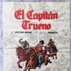 Cómics: EL CAPITAN TRUENO DE VICTOR MORA Y AMBROS - VOLUMEN 2 - EDICION DE LUJO. Lote 148082038