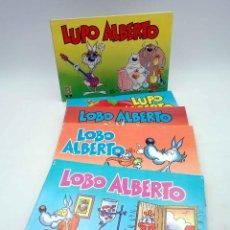 Cómics: LUPO LOBO ALBERTO 1 2 3 4 5. COLECCIÓN COMPLETA (SILVER) B, 1988. OFRT. Lote 148194962