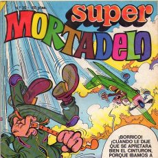 Cómics: SUPER MORTADELO *** EDICIONES B NÚMERO 35 SEPTIEMBRE 1988. Lote 148371190