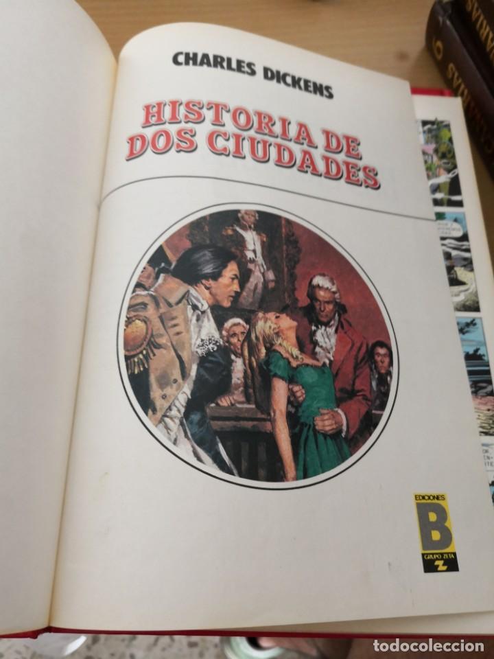 Cómics: AVENTURAS CLÁSICAS ILUSTRADAS - COLECCIÓN COMPLETA DE 5 TOMOS DE EDICIONES B. (1988) - Foto 4 - 184312710