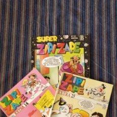 Cómics: LOTE 3 COMICS ZIPI Y ZAPE EXTRA NÚMEROS 14 Y 25 Y SUPER ZIPI Y ZAPE NÚMERO 111. Lote 149001546