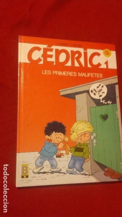 CEDRIC 1 - LES PRIMERES MALIFETES - LAUDEC & CAUVIN - CARTONE - EN CATALAN (Tebeos y Comics - Ediciones B - Otros)