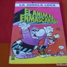 Cómics: EL ANIMAL ENMASCARADO LA JUNGLA LOCA ¡MUY BUEN ESTADO! TAPA DURA EDICIONES B SN . Lote 149200930
