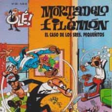 Cómics: MORTADELO Y FILEMÓN EL CASO DE LOS SRES.PEQUEÑITOS Nº 90. Lote 149224238