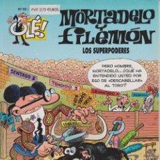 Cómics: MORTADELO Y FILEMÓN LOS SUPERPODERES Nº 93. Lote 149226190