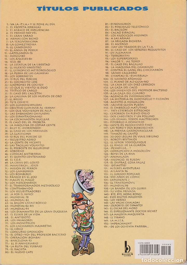 Cómics: MORTADELO Y FILEMÓN LOS SUPERPODERES Nº 93 - Foto 2 - 149226190
