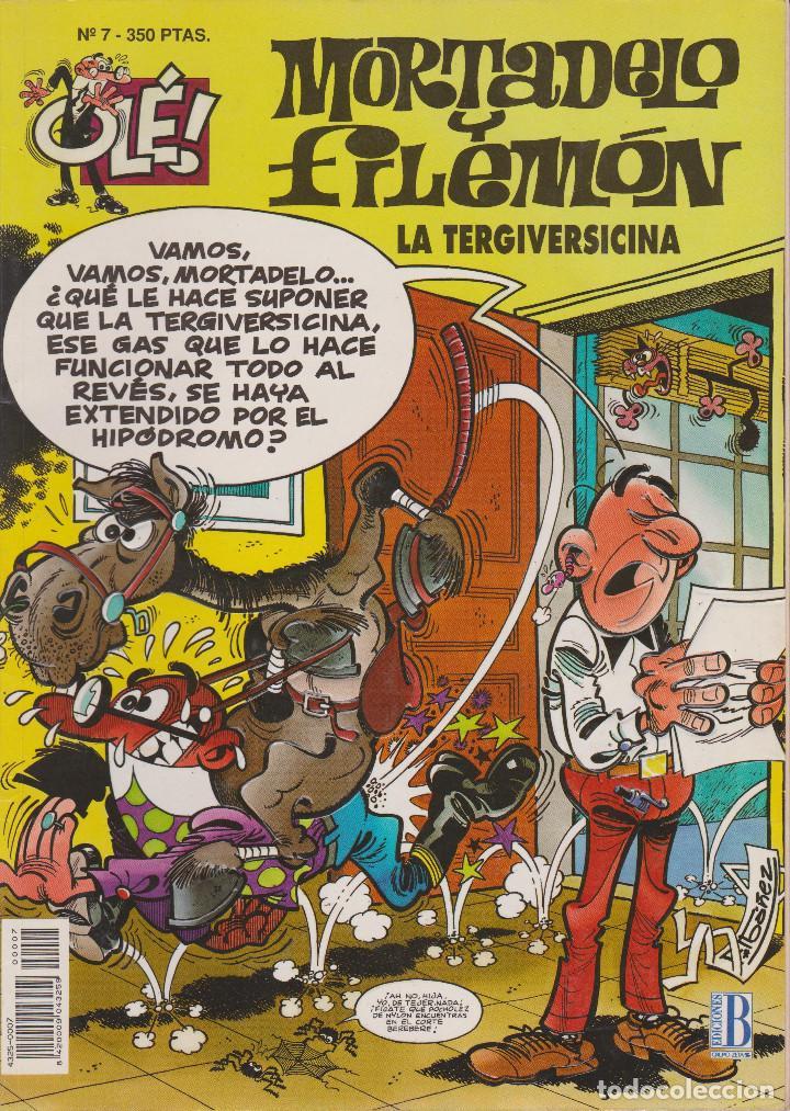 MORTADELO Y FILEMÓN LA TERGIVERSICINA Nº 7 (Tebeos y Comics - Ediciones B - Humor)