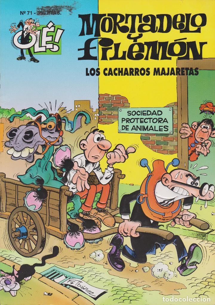 MORTADELO Y FILEMÓN LOS CACHARROS MAJARETAS Nº 71 (Tebeos y Comics - Ediciones B - Humor)