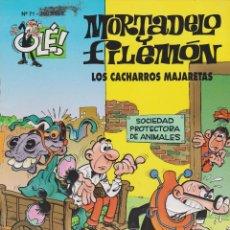 Cómics: MORTADELO Y FILEMÓN LOS CACHARROS MAJARETAS Nº 71. Lote 149230170