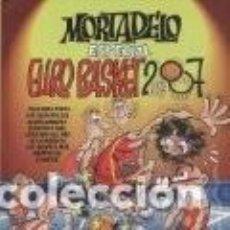 Cómics - MORTADELO ESPECIAL EURO BASKET 2007 (F. IBAÑEZ) EDICIONES B - TAPA DURA - IMPECABLE - OFF15 - 149441730