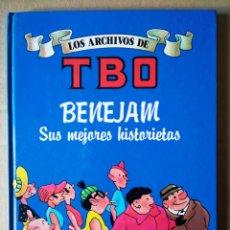Cómics: LOS ARCHIVOS DE TBO N°5: BENEJAM, SUS MEJORES HISTORIETAS (EDICIONES B, 1990). 48 PÁGINAS A COLOR. Lote 150250728